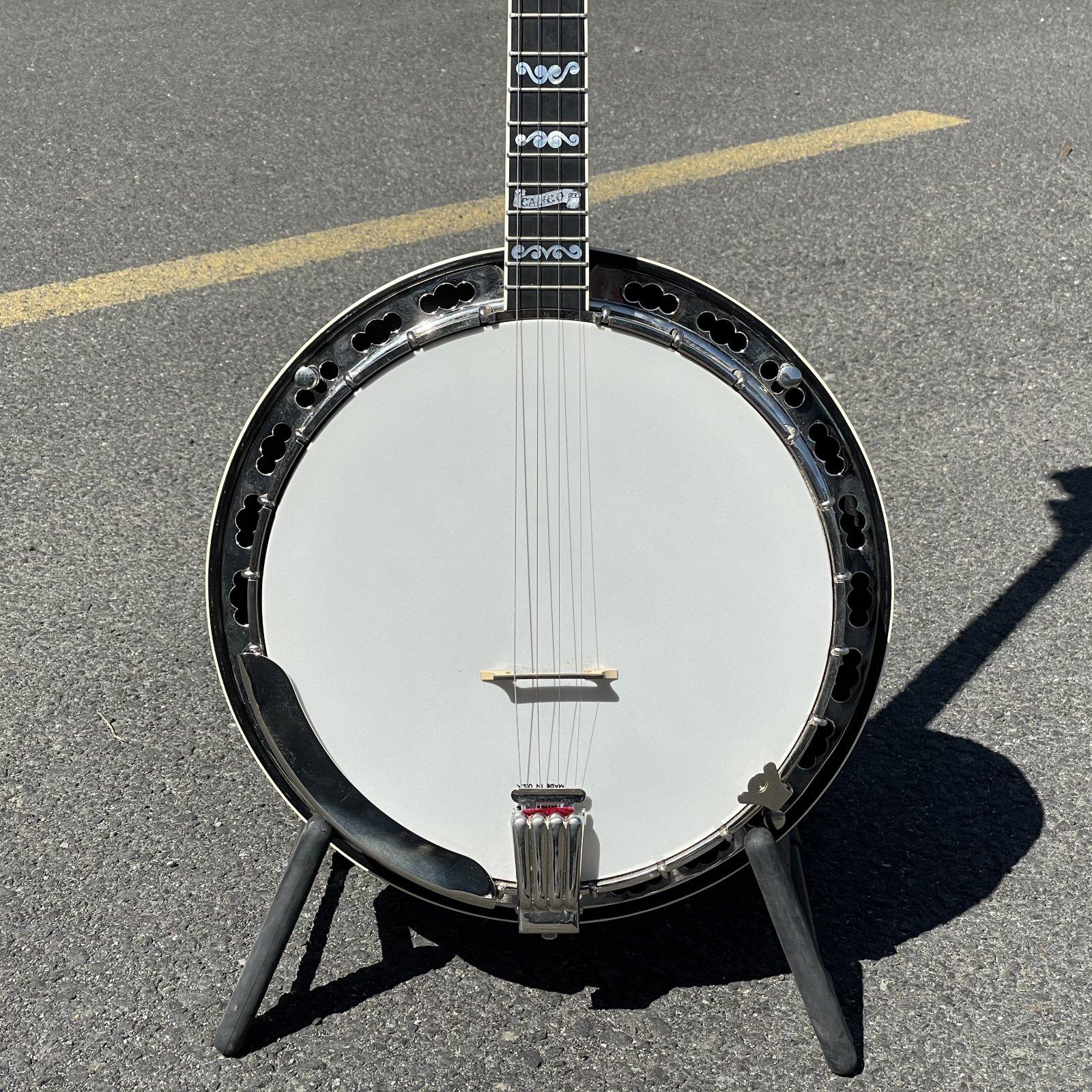 Deering Calico Plectrum Banjo