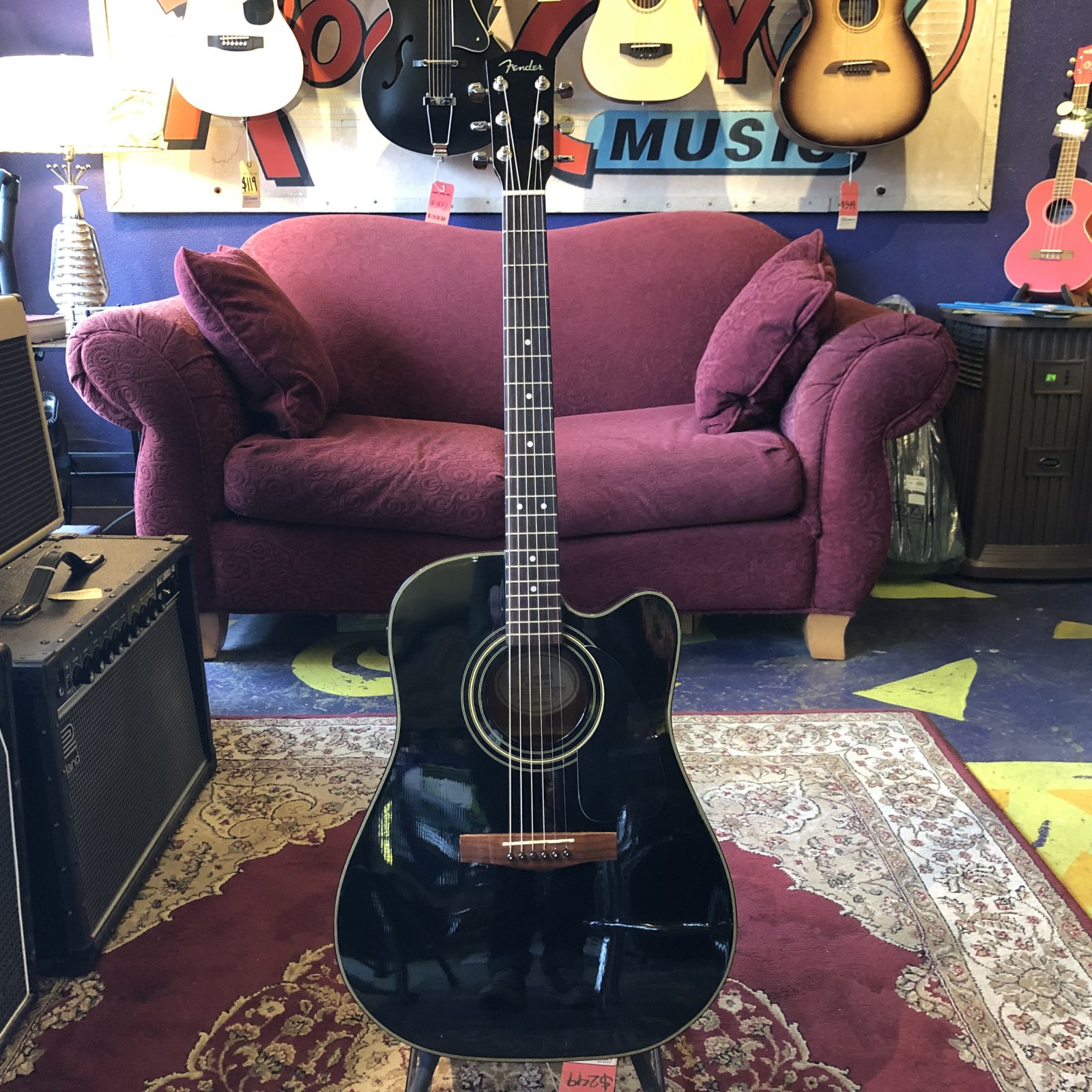 Used Fender DG200CE Acoustic Electric