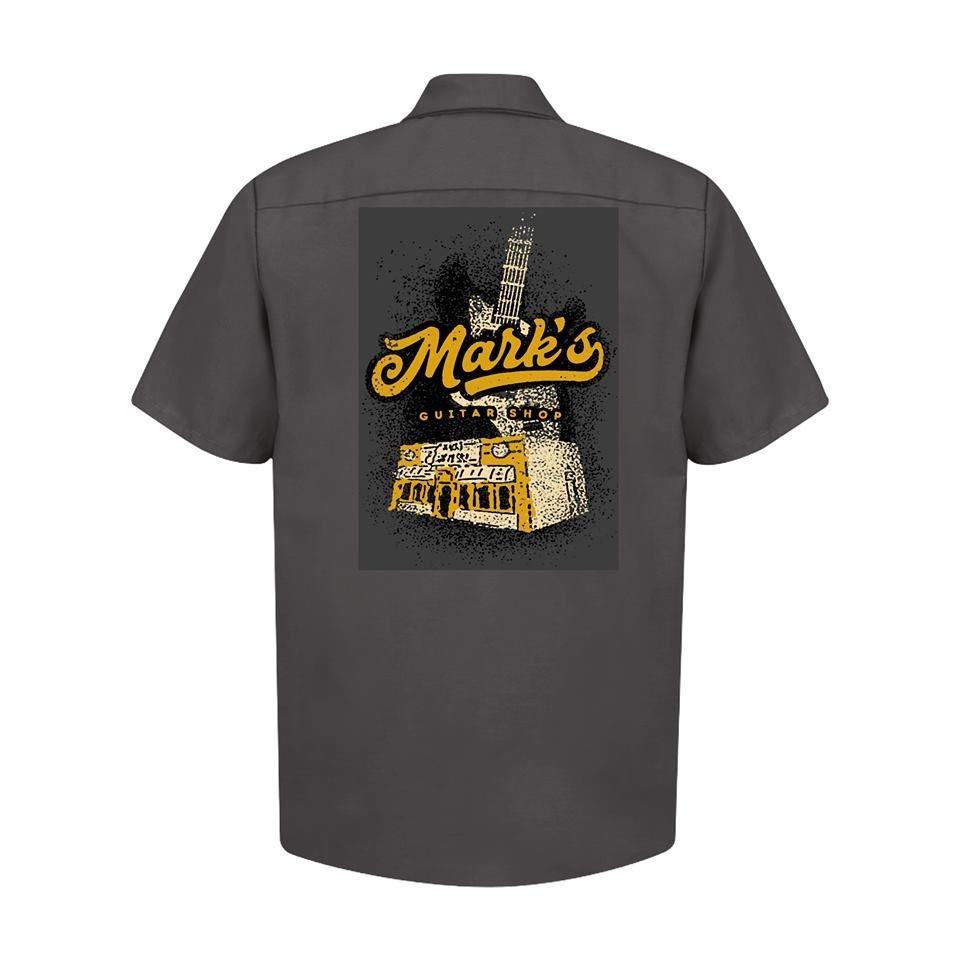 MGS Garage Vintage Print Work Shirt