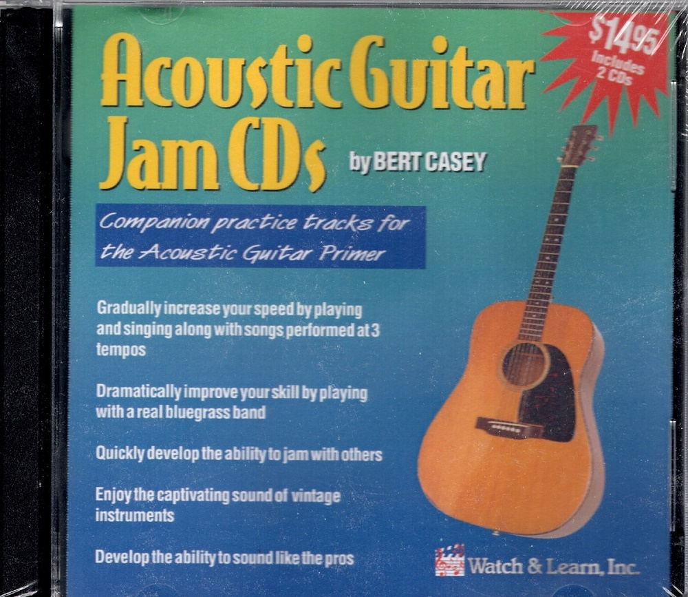 Watch & Learn Acoustic Guitar Practice CDs