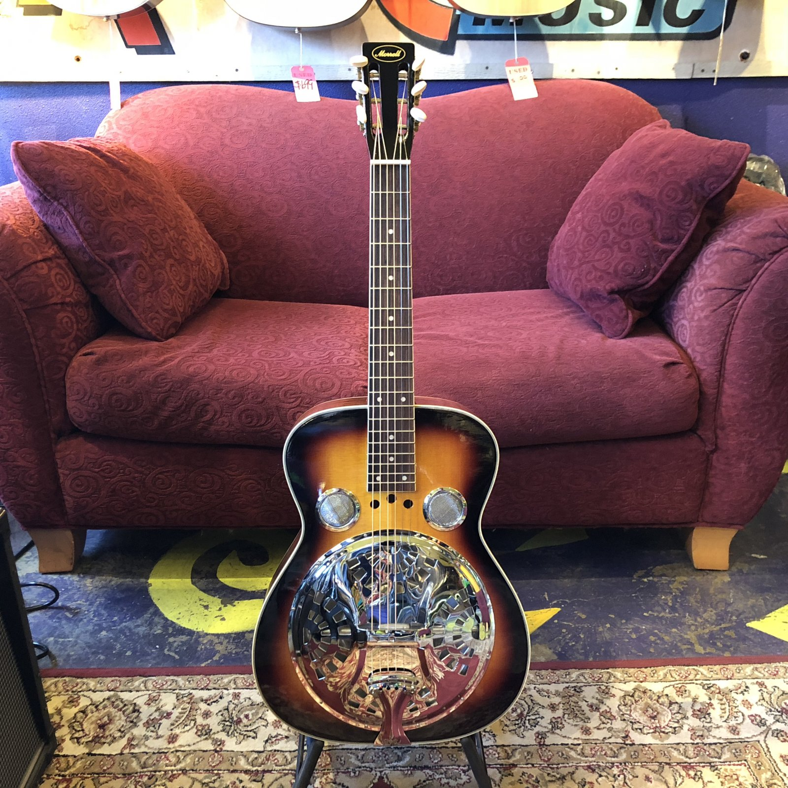 Used Morell Square Neck Resonator