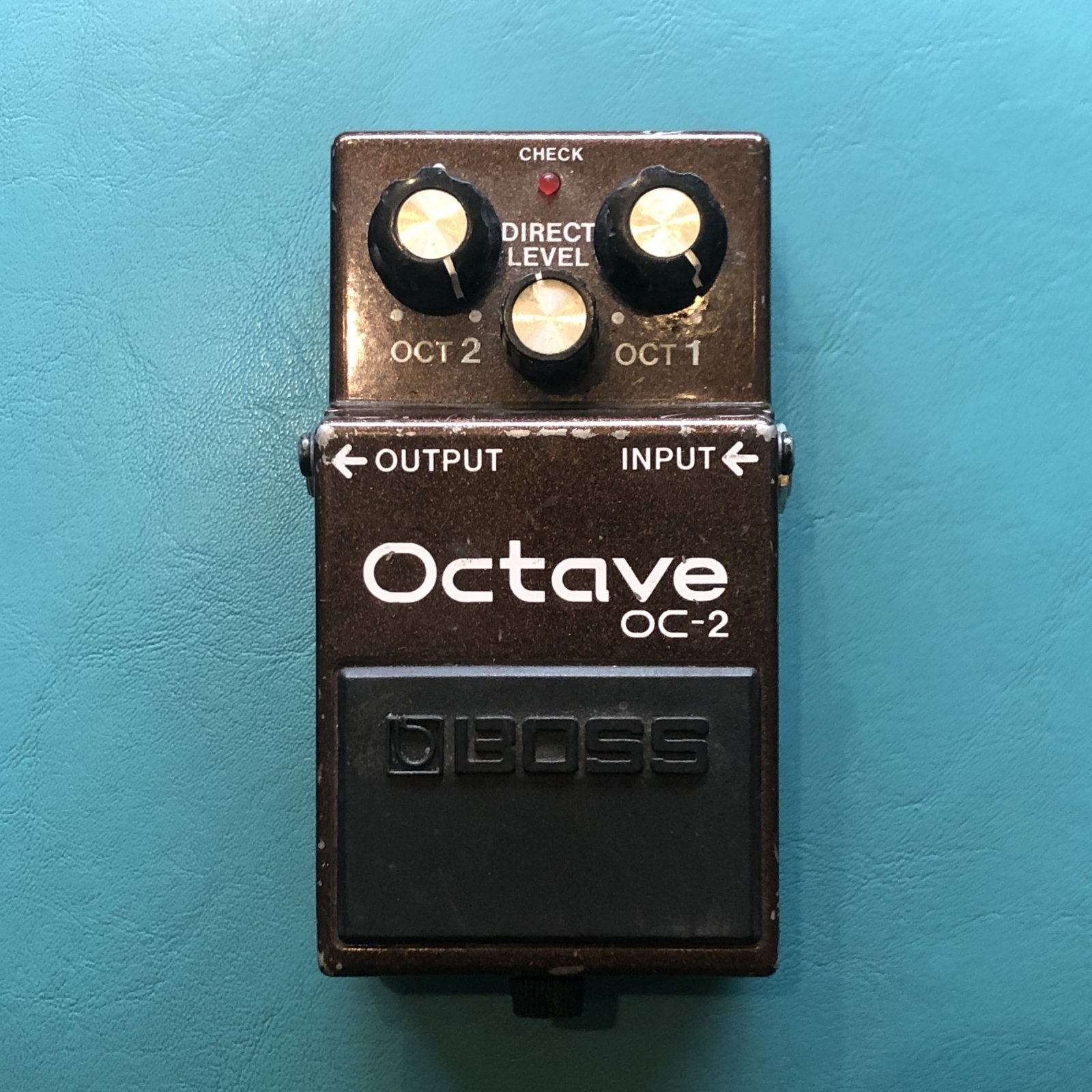 Boss OC-2 Octave Pedal 1984 - 1997 Black Label
