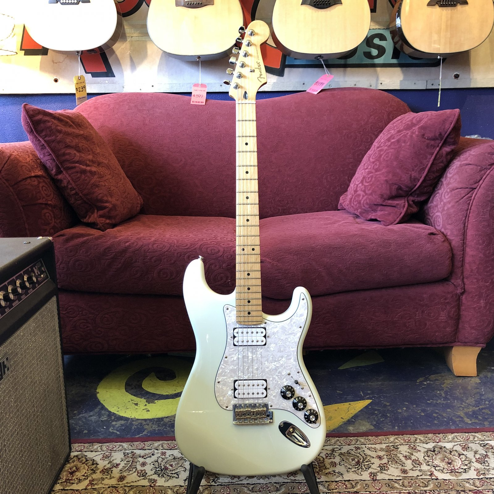 Used Fender Blacktop Stratocaster HH