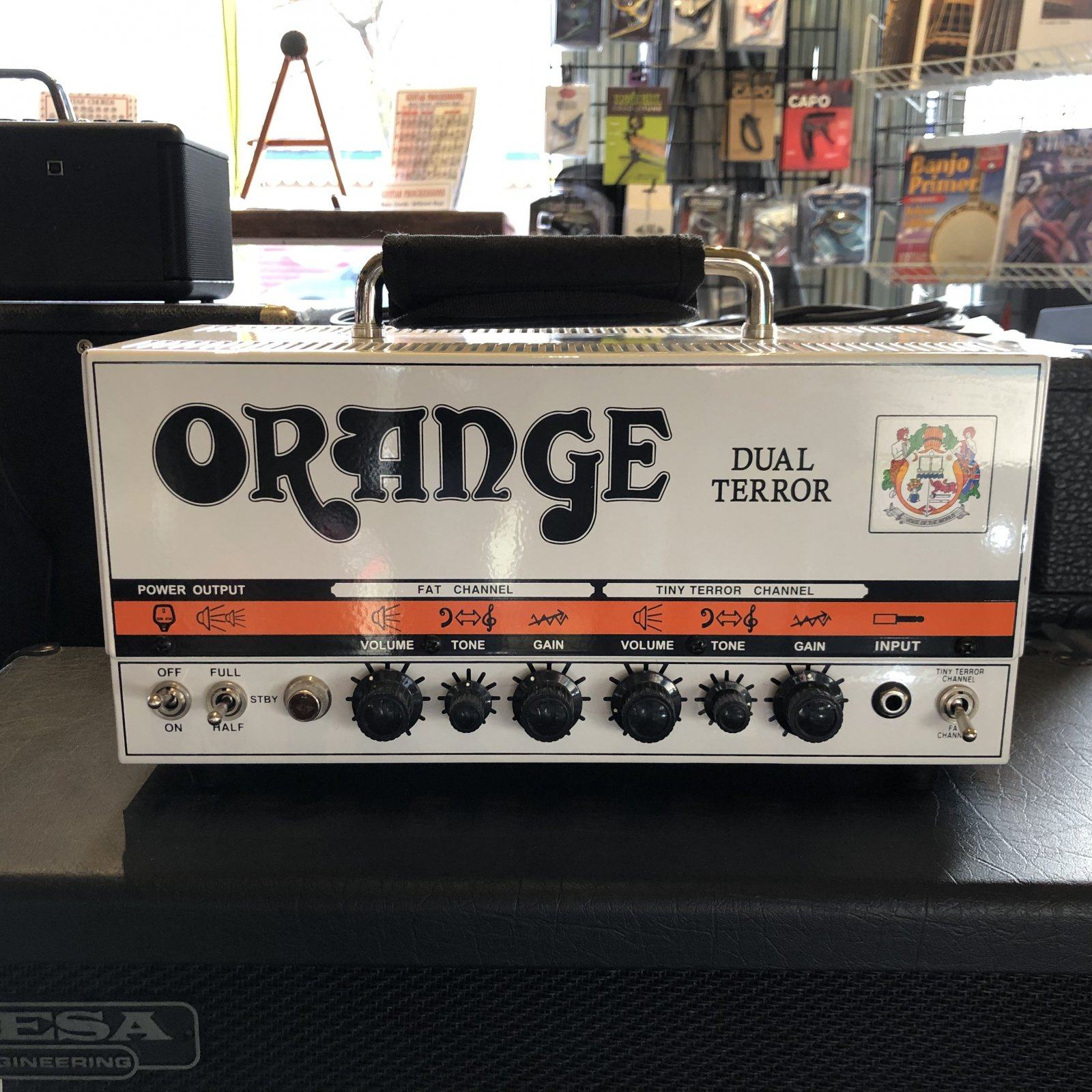 Used Orange Dual Terror