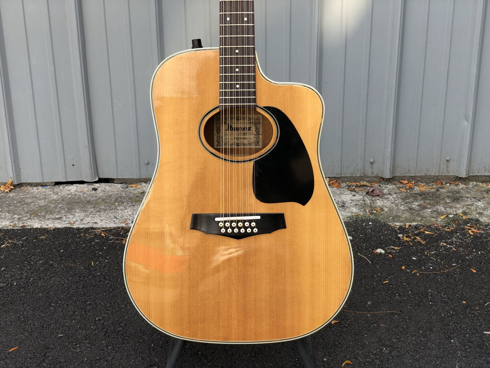 Vintage Ibanez AE302 12-String Acoustic Electric