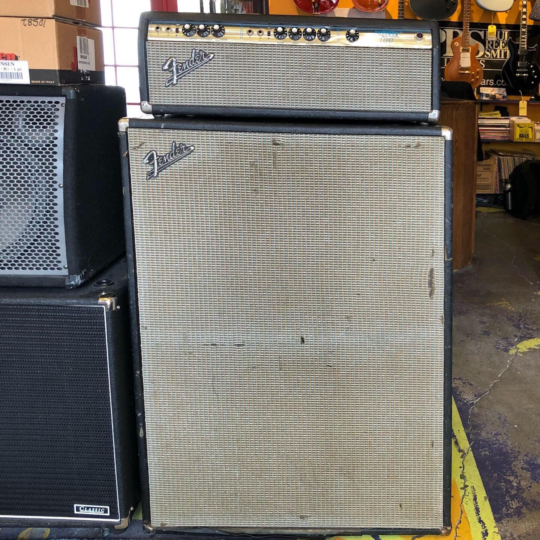 Used Fender Silverface Bassman 100