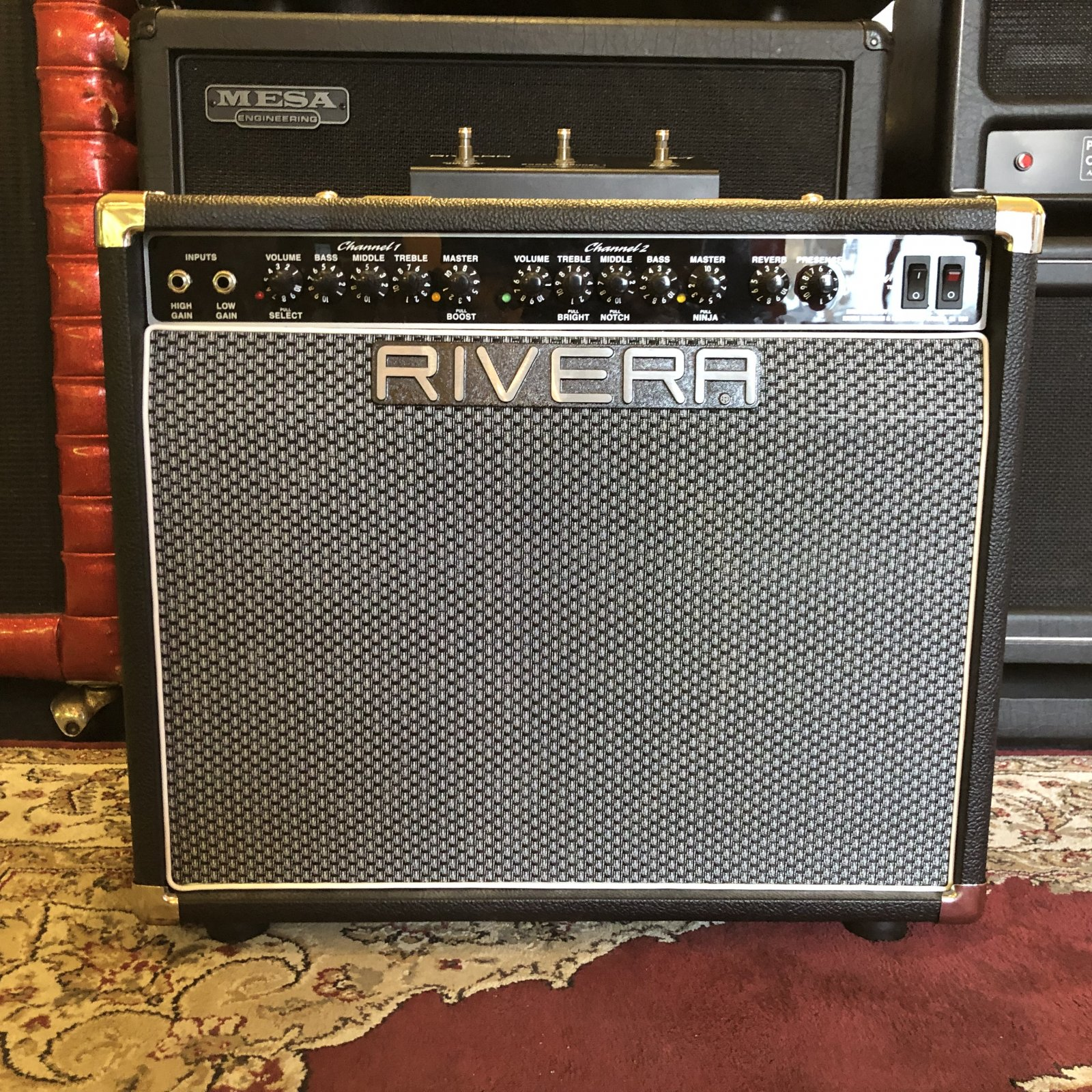 Used Rivera Chubster 40 Combo