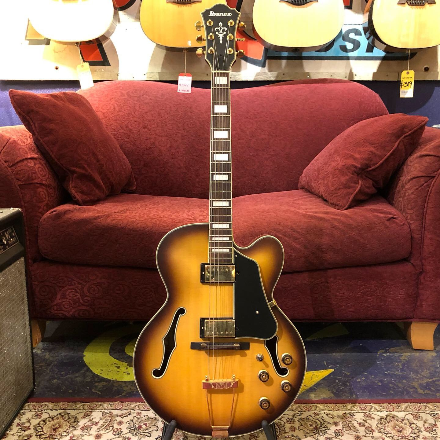 Used Ibanez AFJ95 Hollowbody