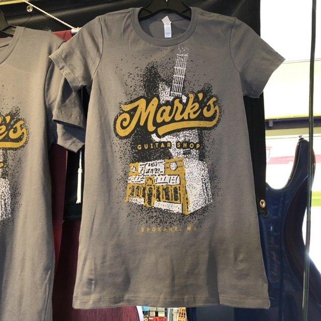 MGS Vintage Print Ladies T-Shirt