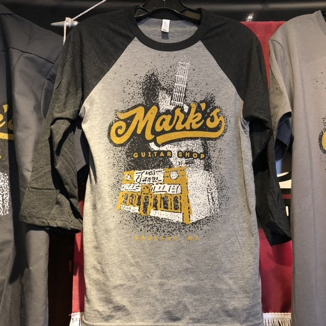 MGS Vintage Print 3/4 Sleve Baseball Shirt