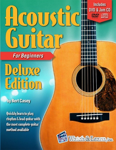 Watch & Learn Acoustic Guitar for Beginners Deluxe Edition