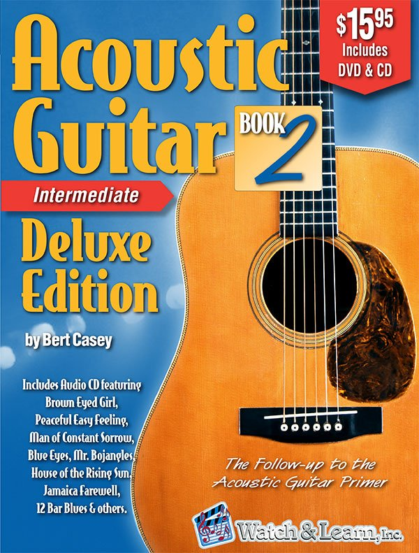 Watch & Learn Acoustic Guitar for Intermediate Deluxe Edition