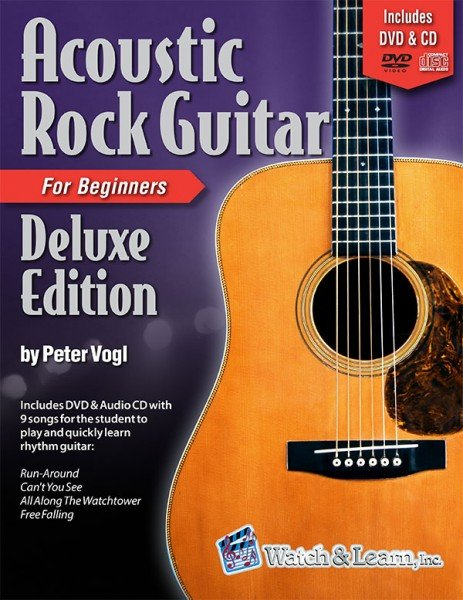 Watch & Learn Acoustic Rock Guitar Deluxe Edition
