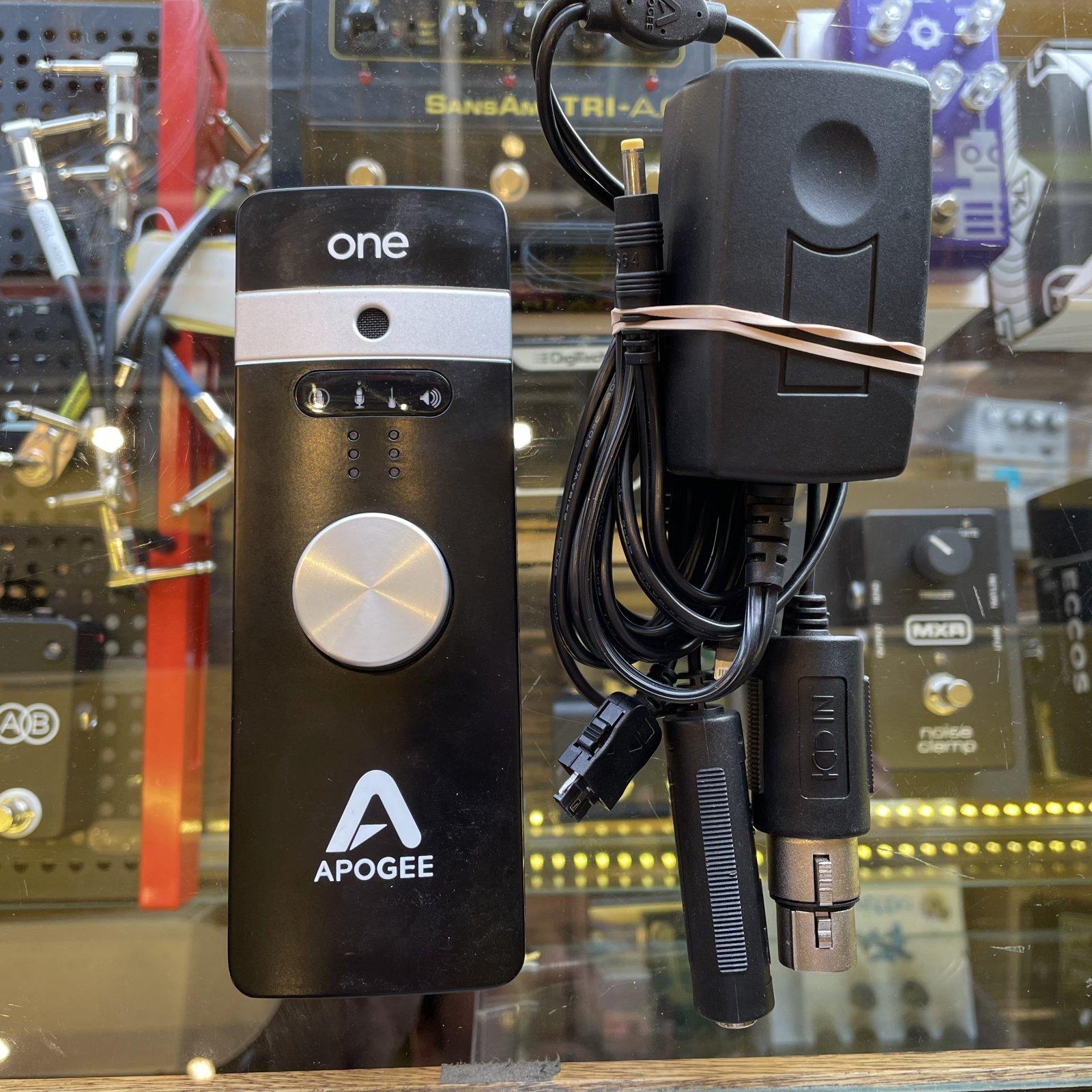Apogee ONE 2x2 24-Bit 96kHz USB Audio Interface for iOS and Mac