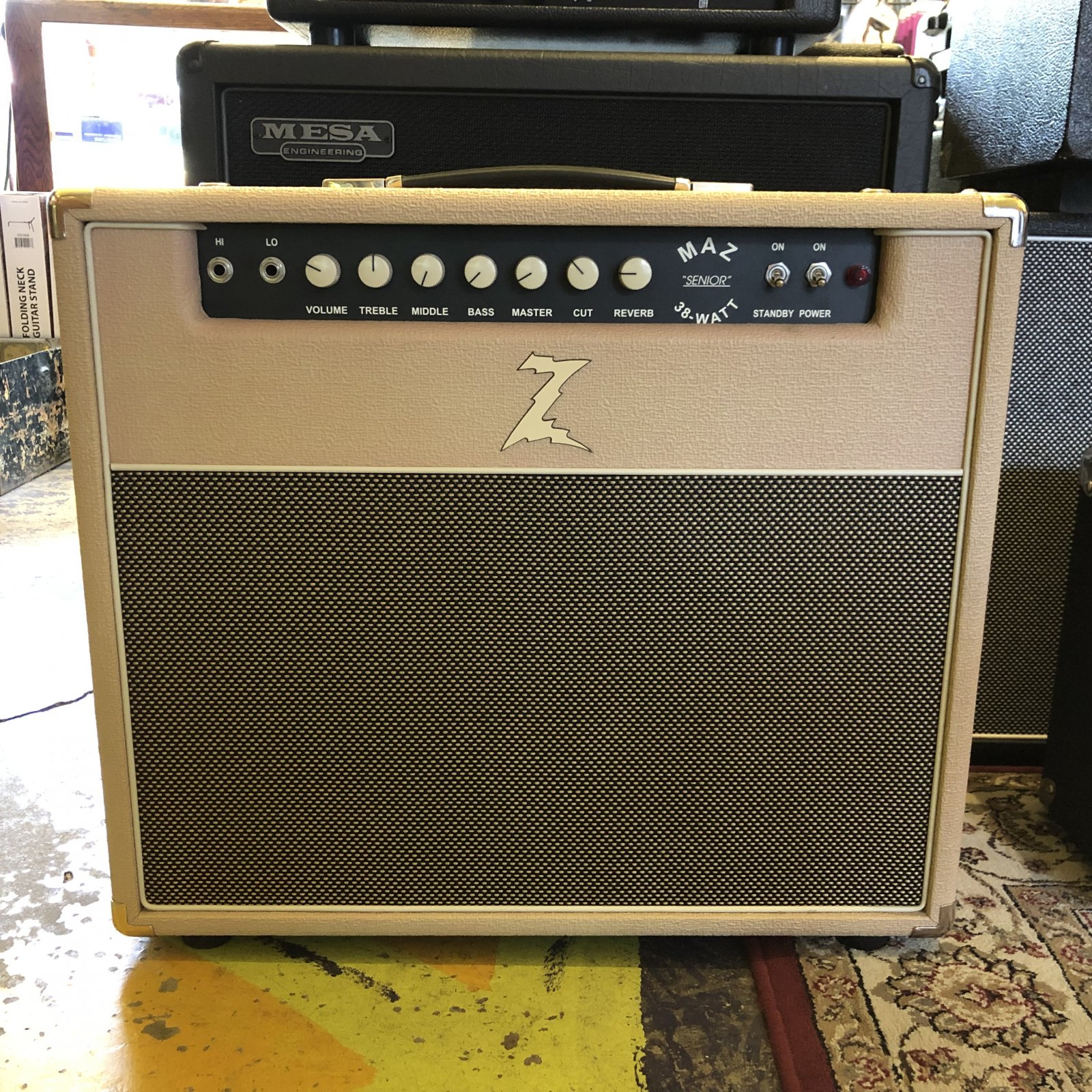 Dr. Z Maz SR 38 1x12 Combo with Reverb