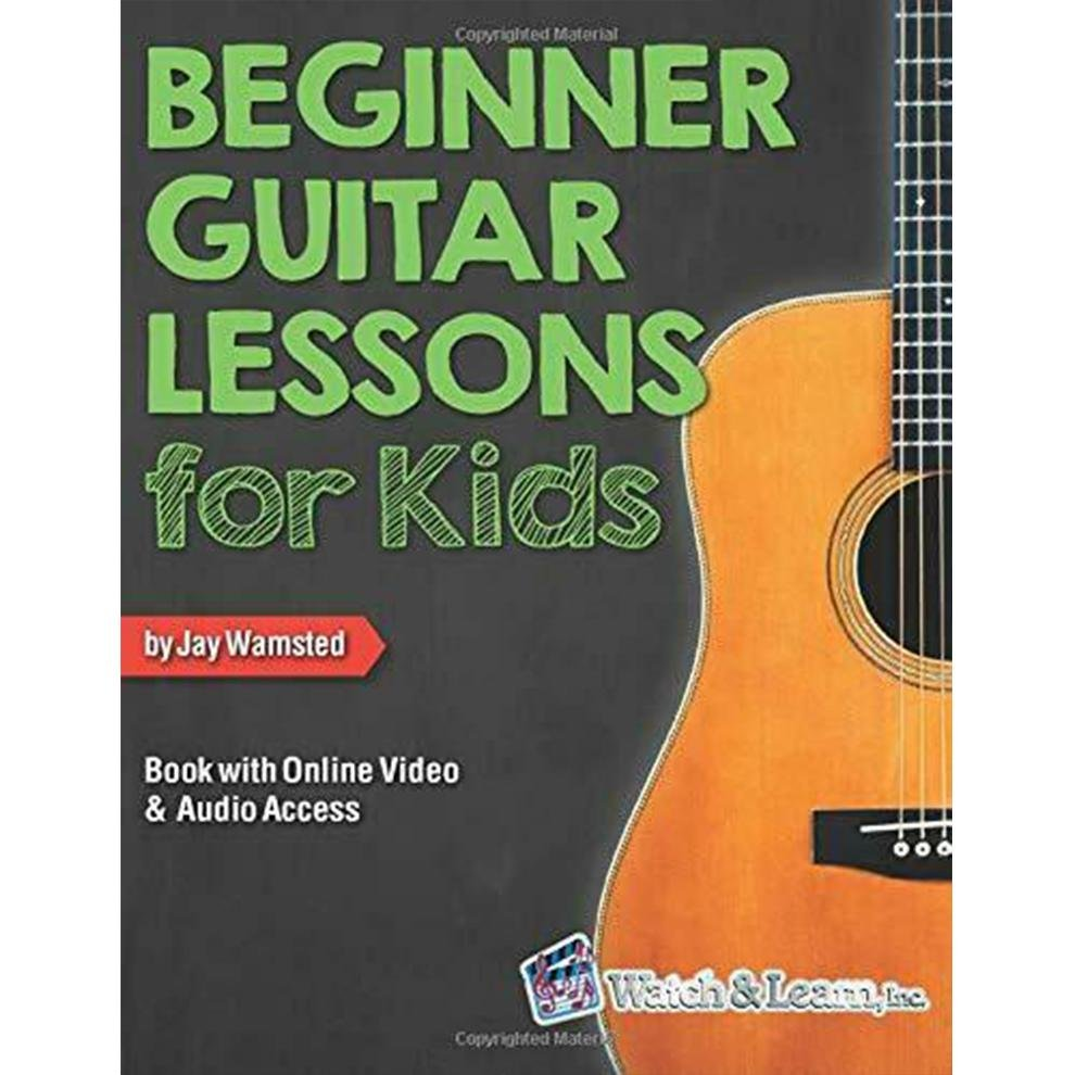 Beginner Lessons for Kids Book with Online Video