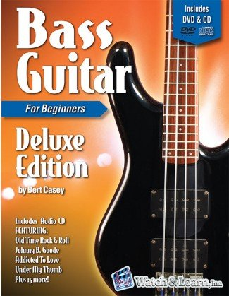 Watch & Learn Bass Guitar Primer for Beginners Deluxe Edition