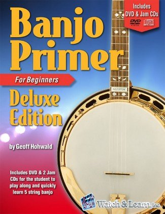 Watch & Learn Banjo Primer Deluxe Edition w/DVD/Jam CDs