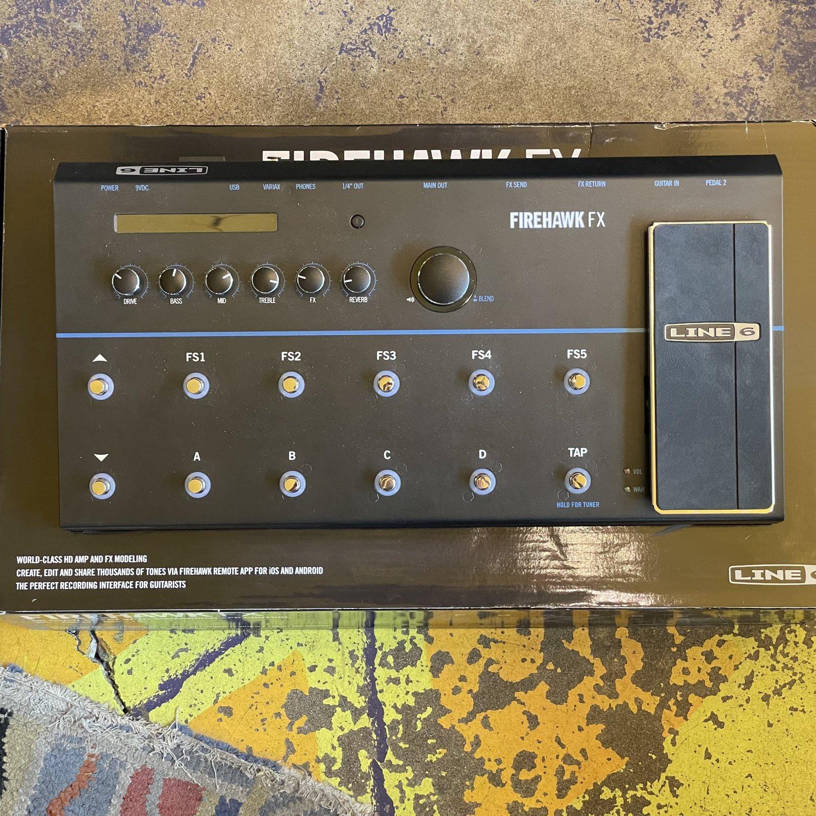 Line 6 Firehawk FX Multi-Effect and Amp Modeler