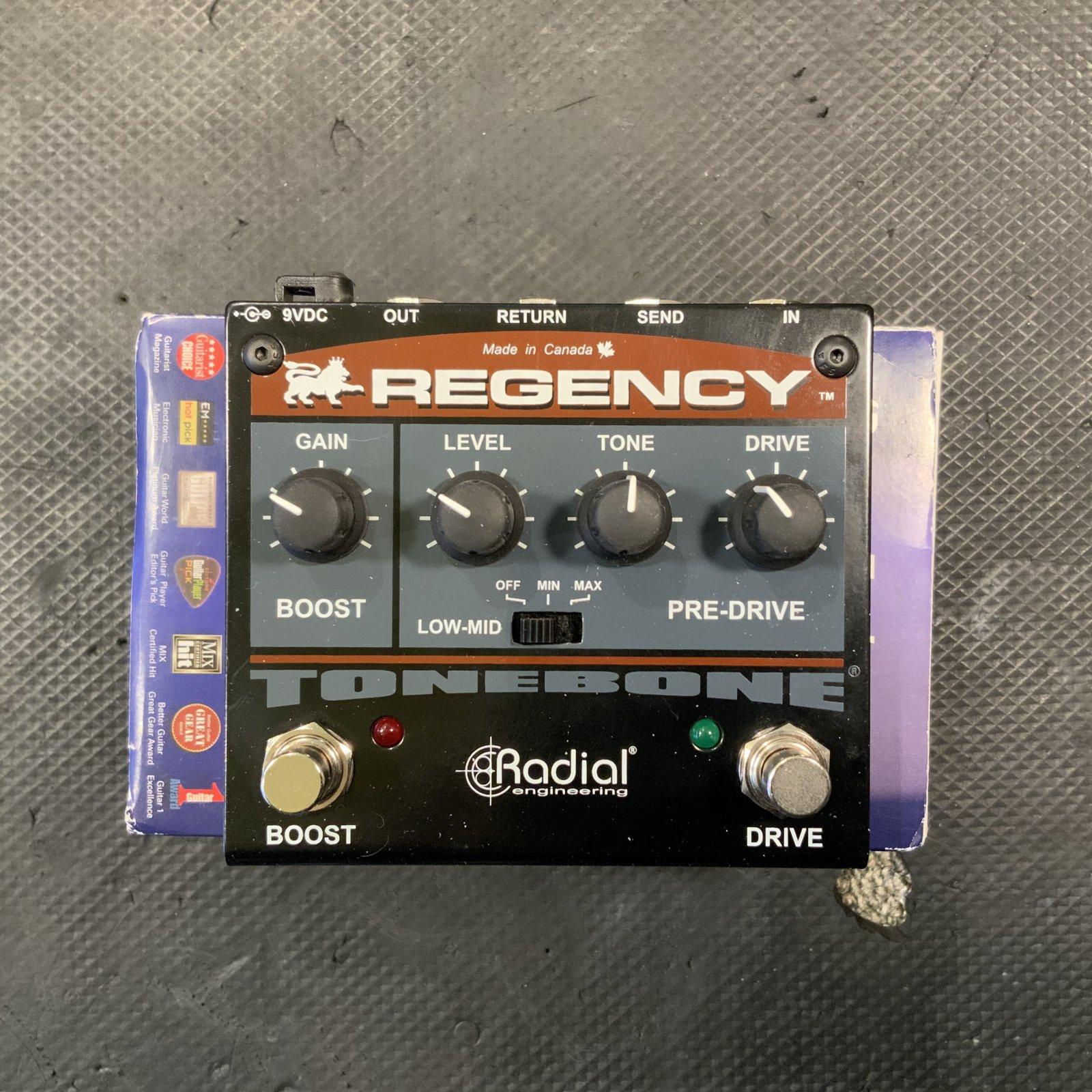 Radial ToneBone Regency Pre-Drive/Boost