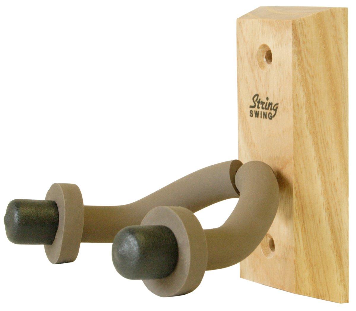 String Swing Hardwood Home and Studio Guitar Hanger