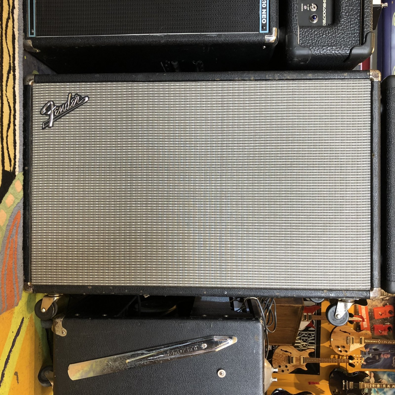 Used Fender Blackface 2x12 Cabinet