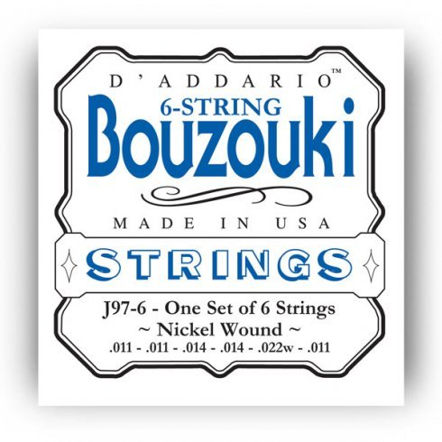 D'Addario 6-String Bouzouki Strings