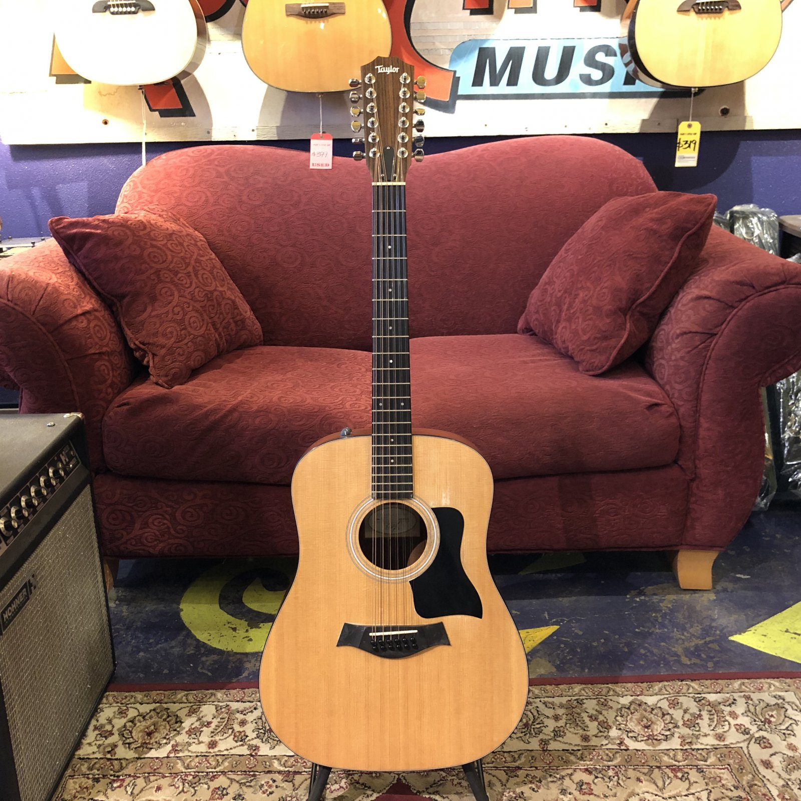 Used Taylor 150e 12-String