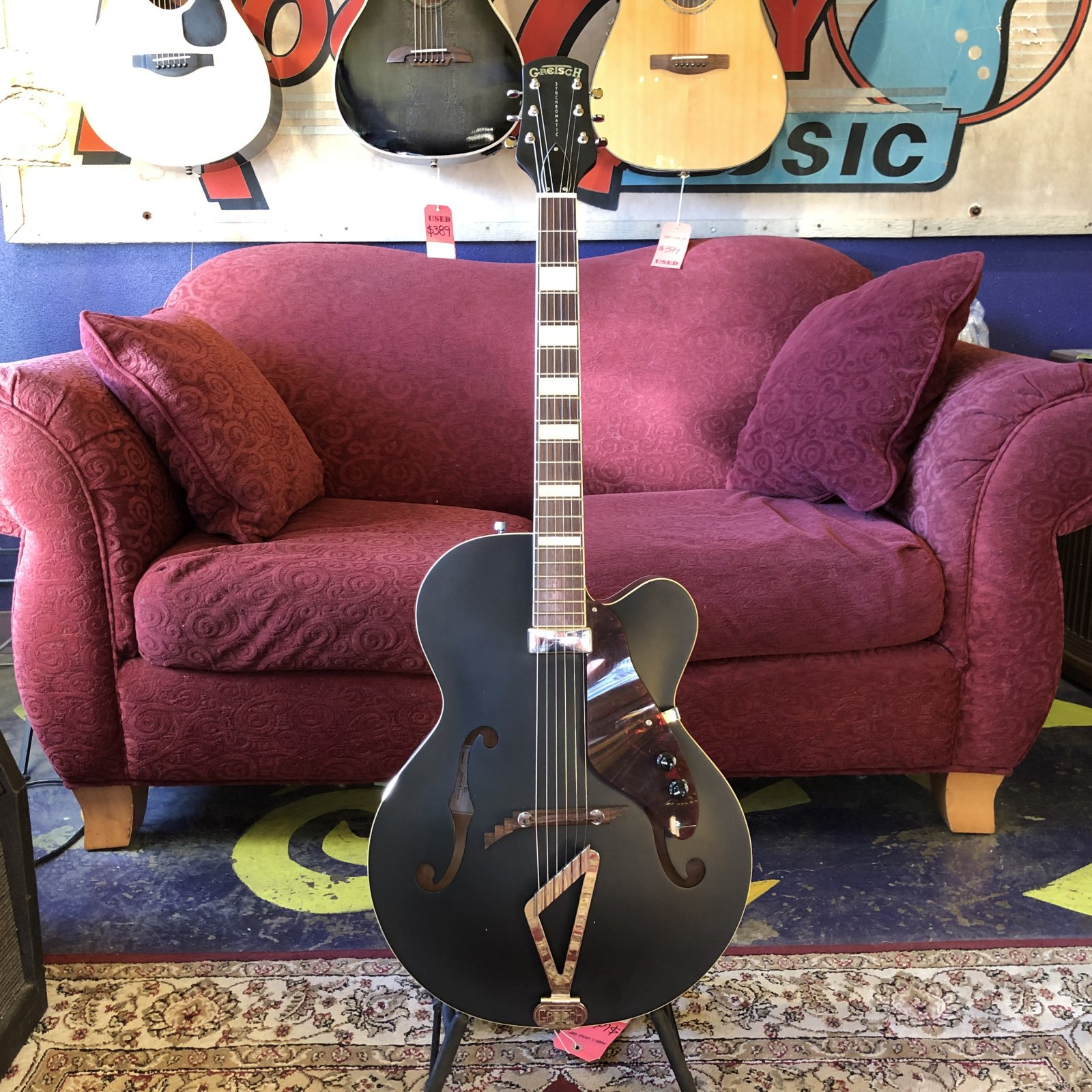 Used Gretsch G100CE Synchromatic Electric Archtop