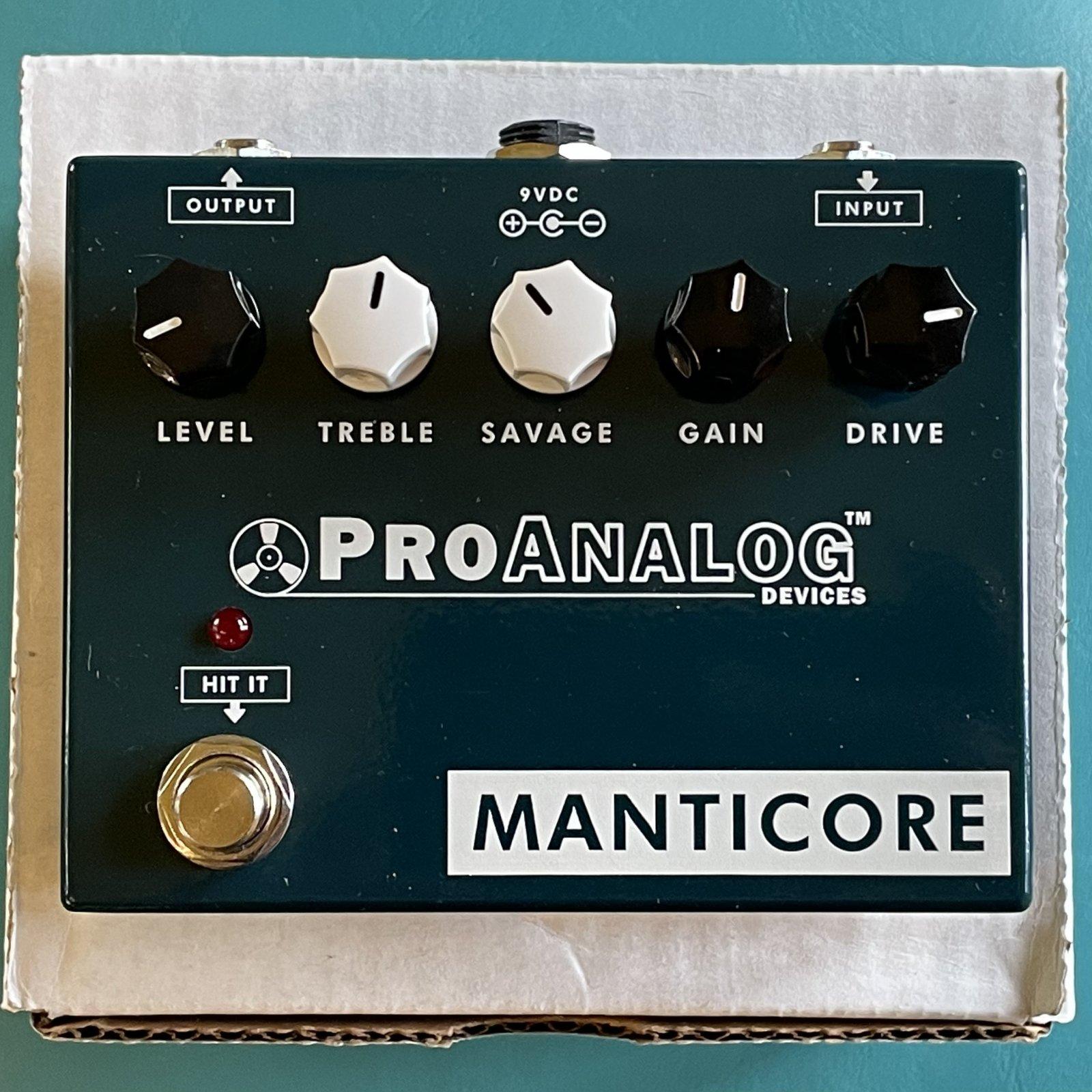 ProAnalog Devices Manticore Overdrive V2