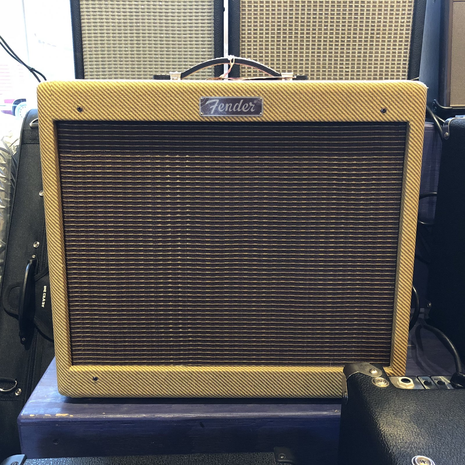 Used Fender Blues Jr. Lacquered Tweed