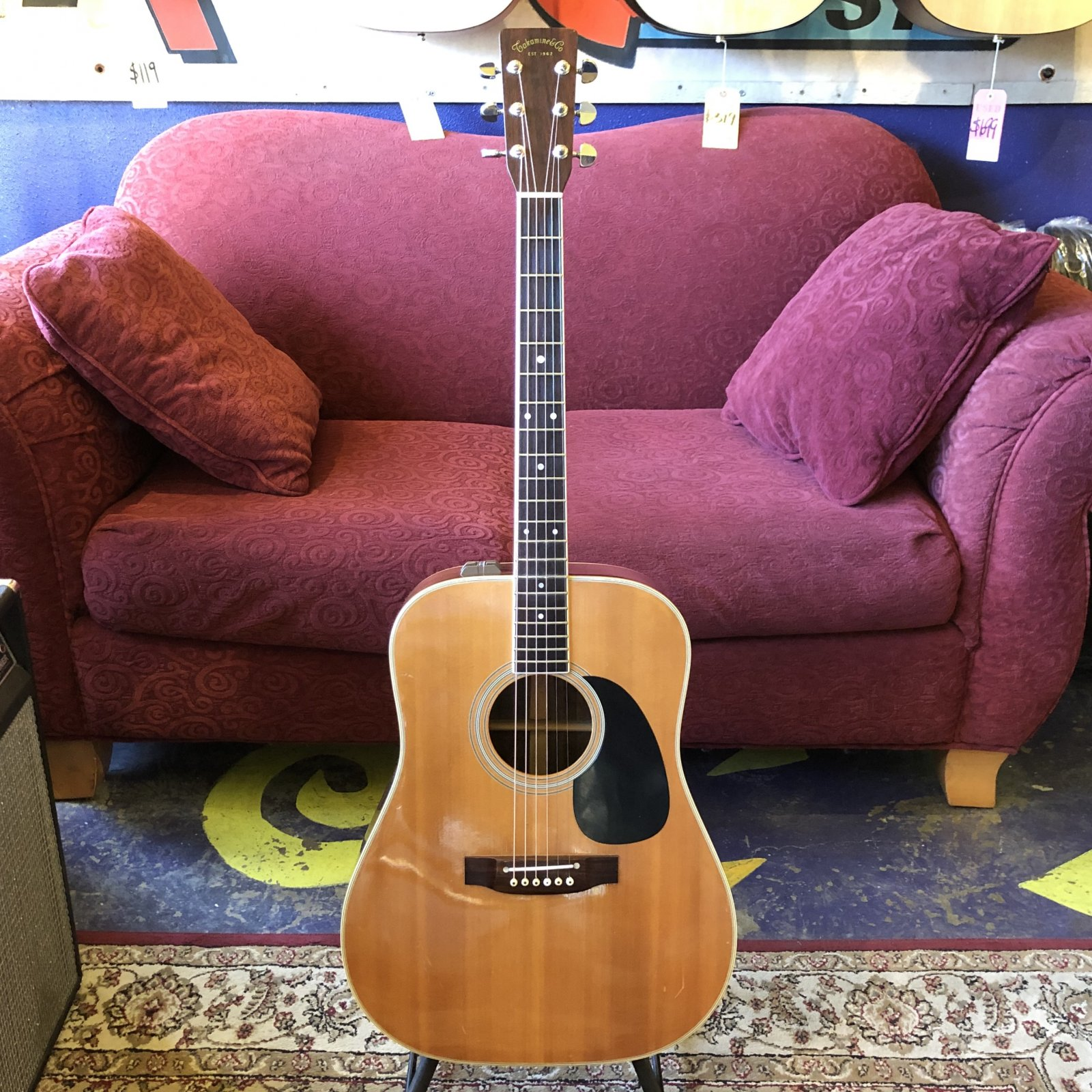 1979 Takamine EF-360S Acoustic Electric