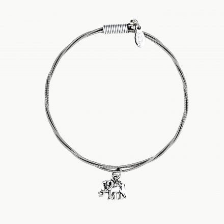 Strung Bracelet Elephant-Luck Be a Lady