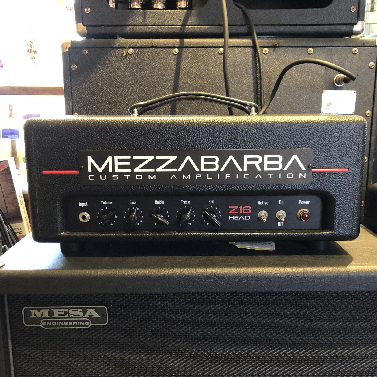 Used Mezzabarba Z18 Head