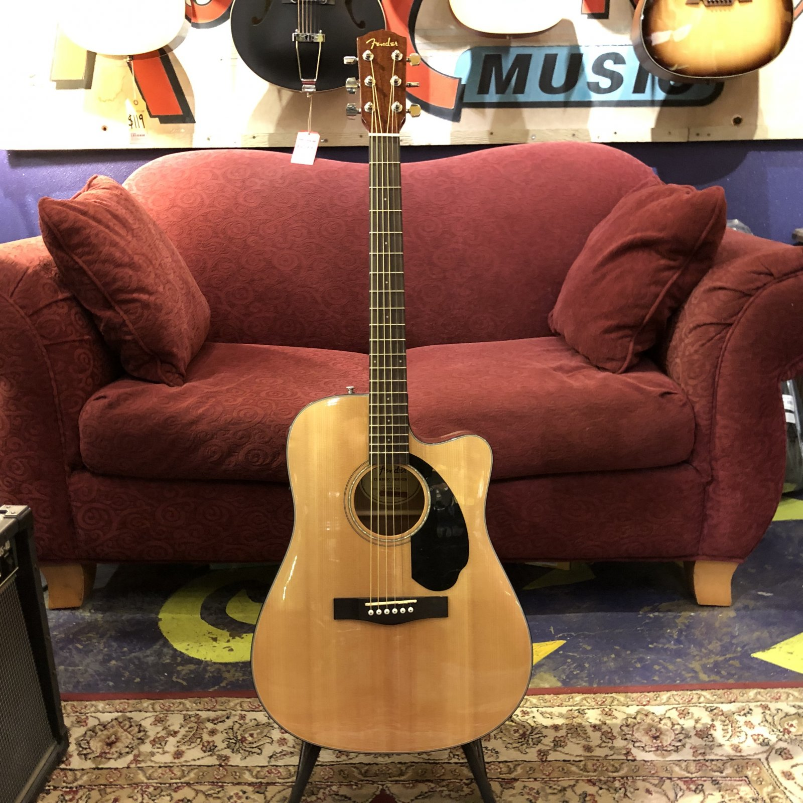 Fender CD-60SCE Acoustic Electric