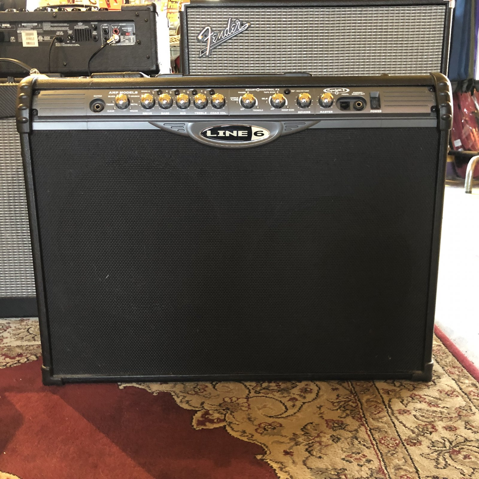 Used Line 6 Spider II 212