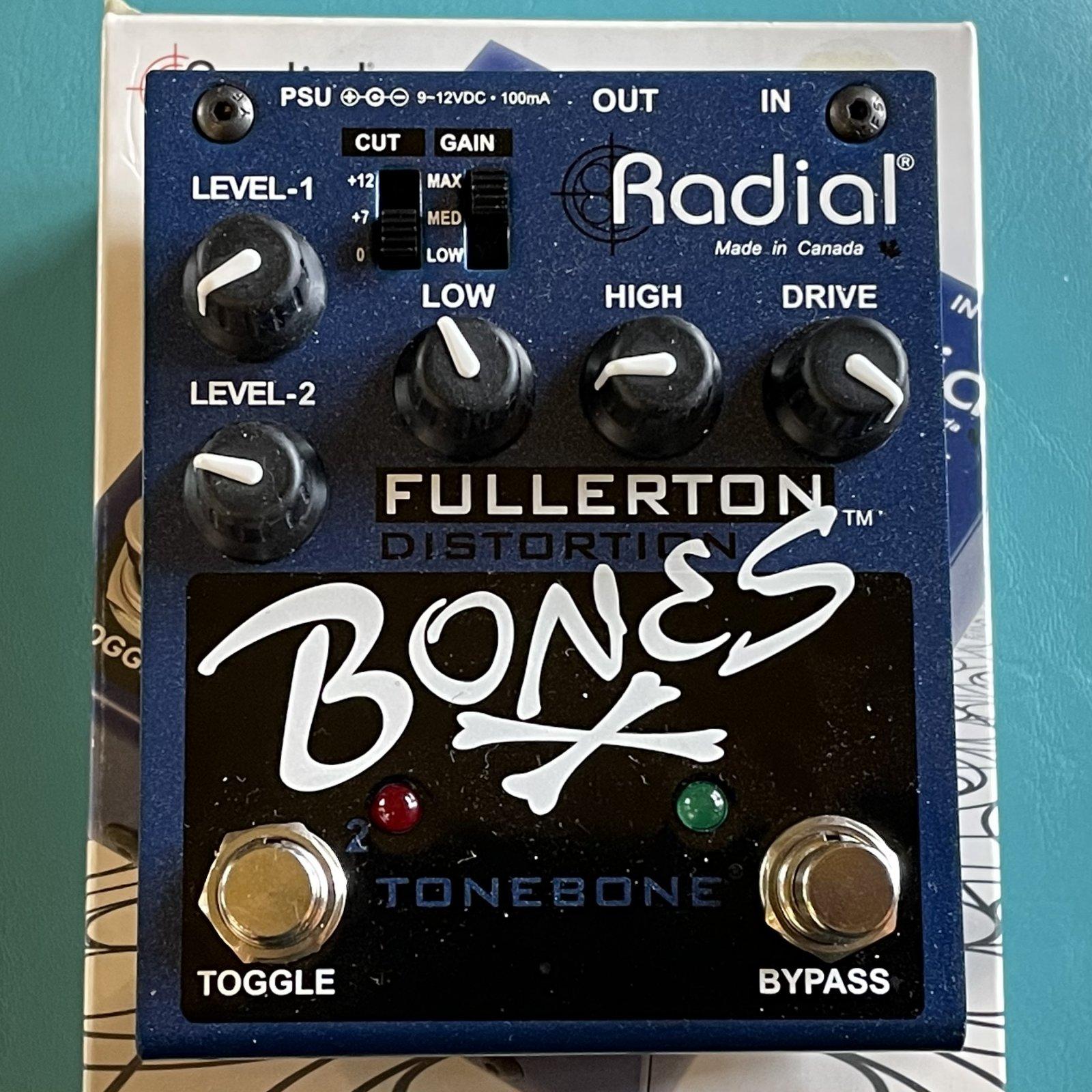Radial Bones Fullerton Distortion
