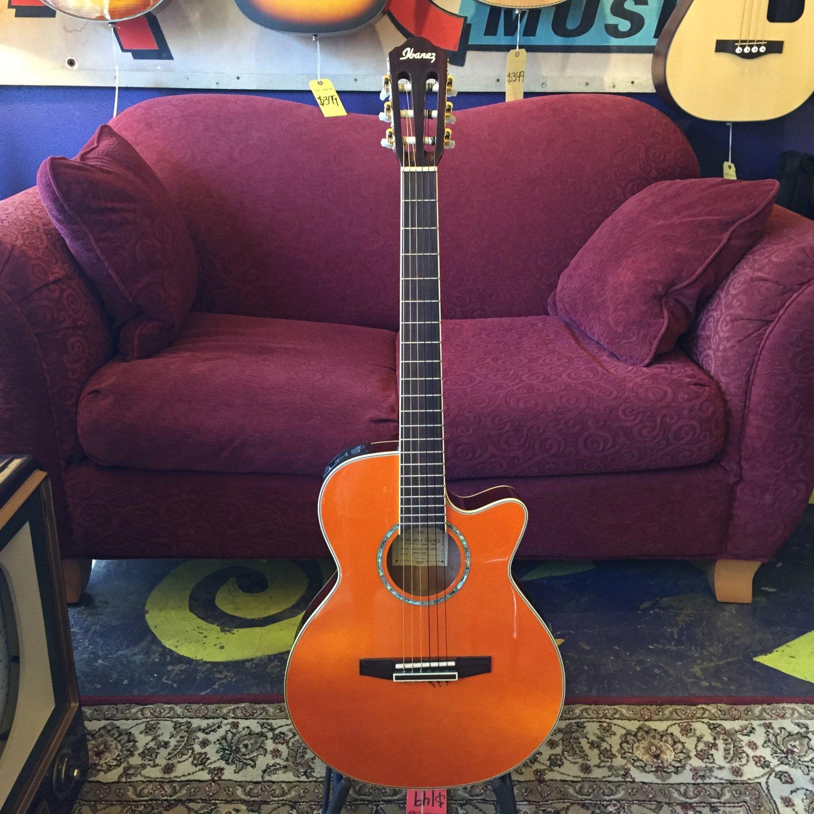 Used Ibanez AEG10N Nylon Acoustic