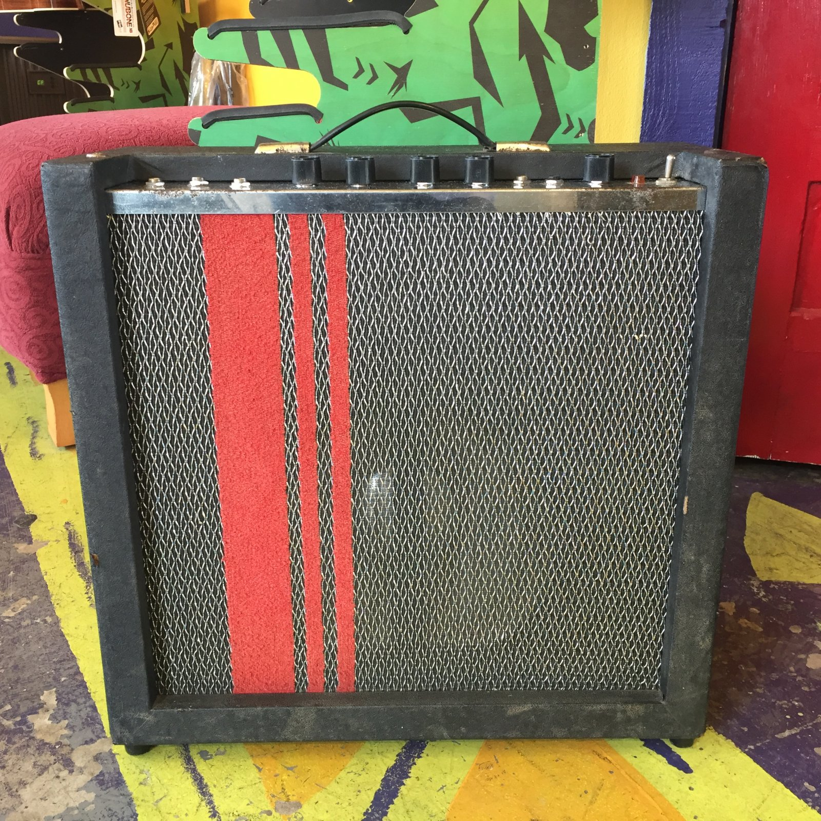 Vintage Harmony H512 Reverb