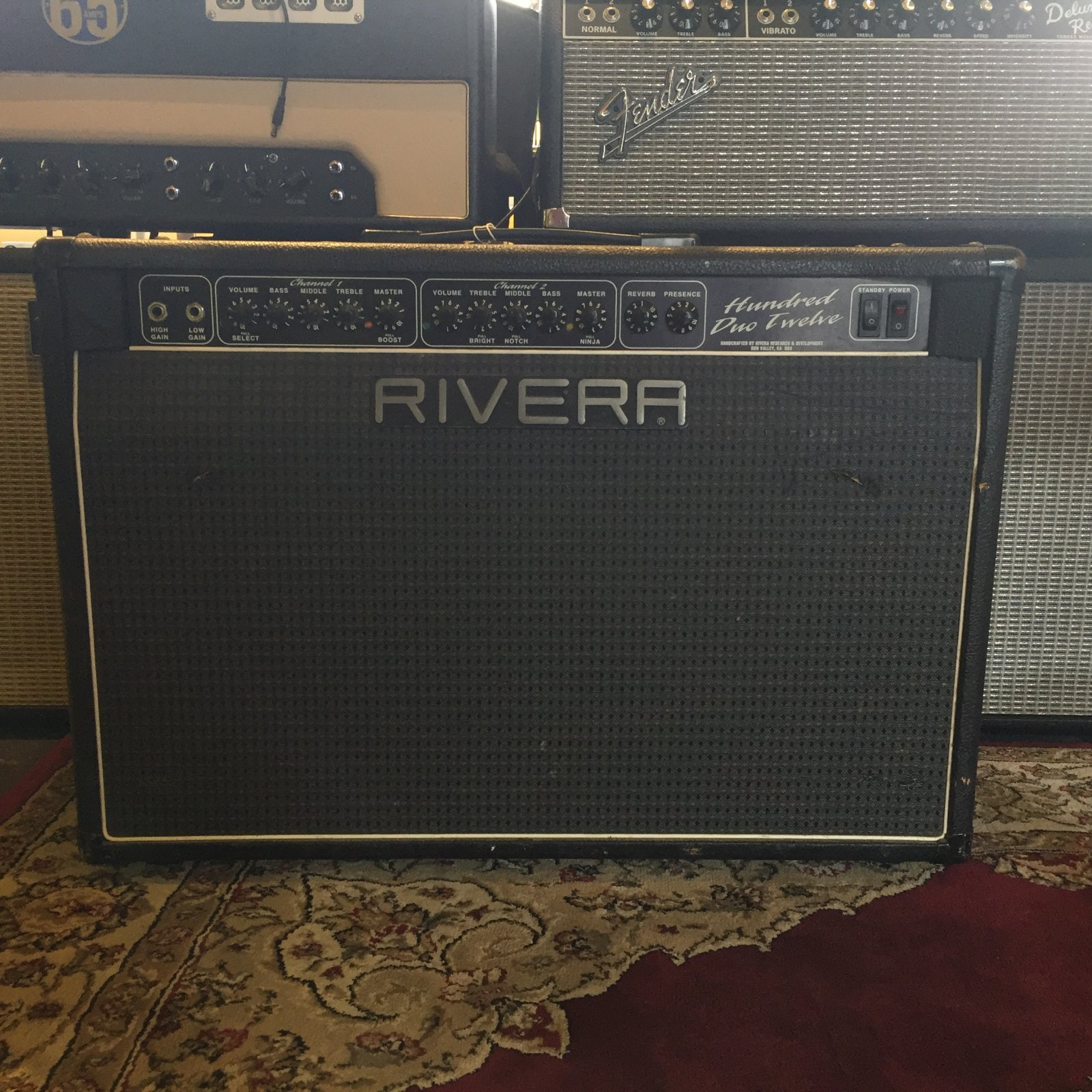 Used Rivera 100 2x12 Amplifier