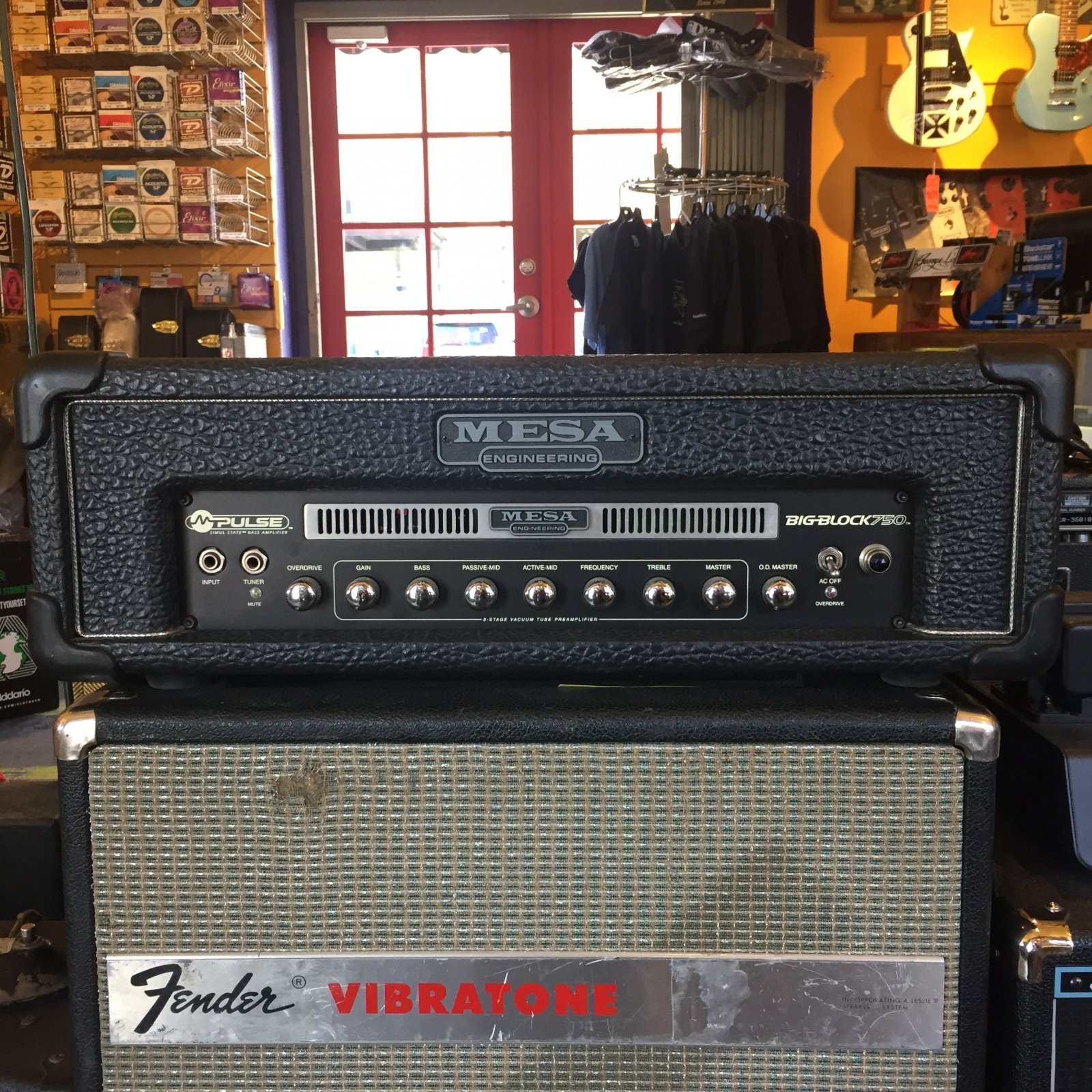 Used Mesa Boogie Big Block 750