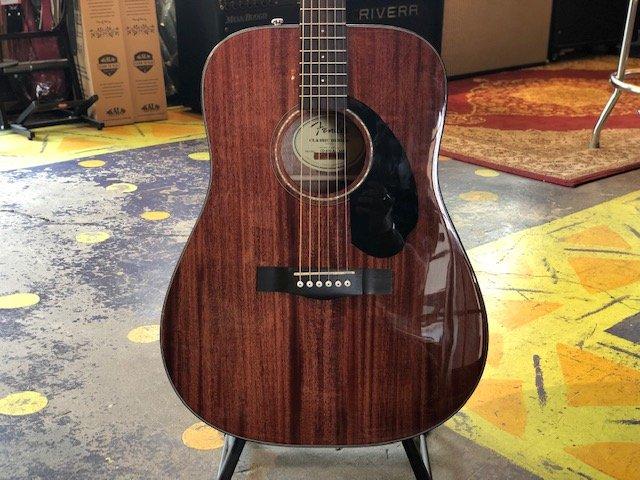 Fender CD-60S All-Mahogany Dreadnought Acoustic Guitar
