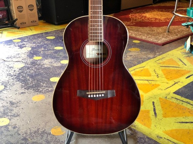 Ibanez PN12E Mahogany Parlor Acoustic-Electric