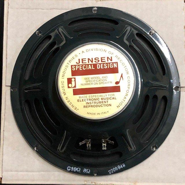 Jensen C10Q 10 Ceramic Guitar Speaker 8 ohm