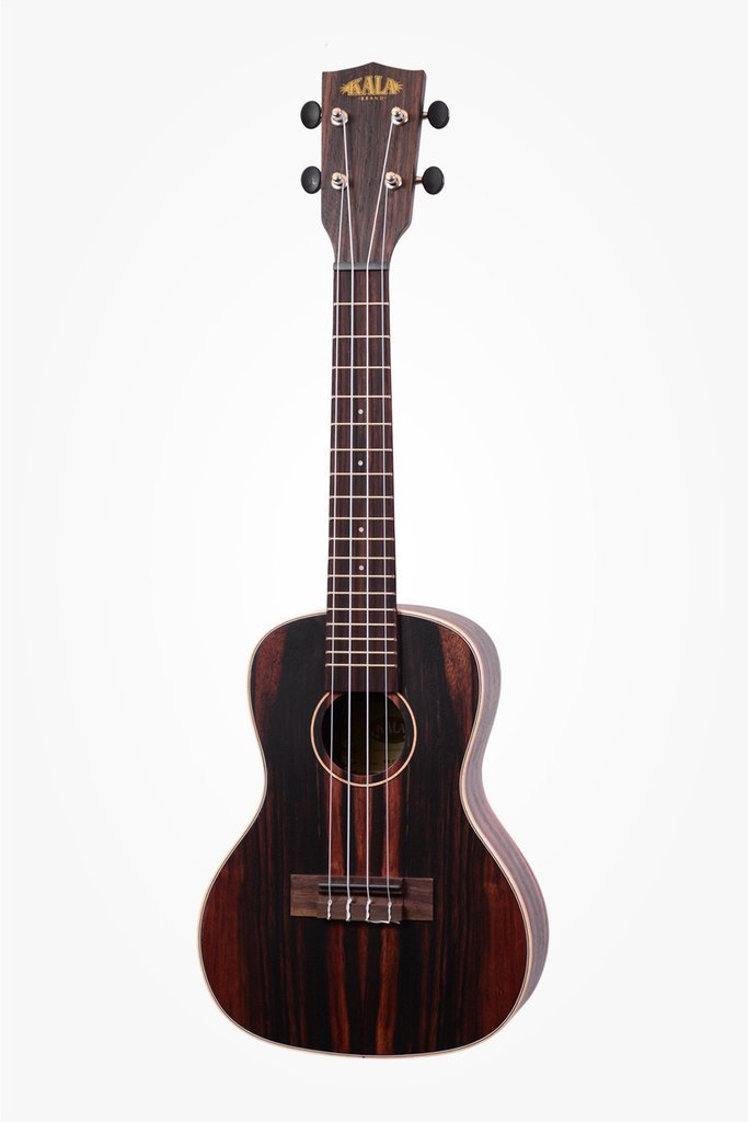 Kala Striped Ebony Series Ukuleles