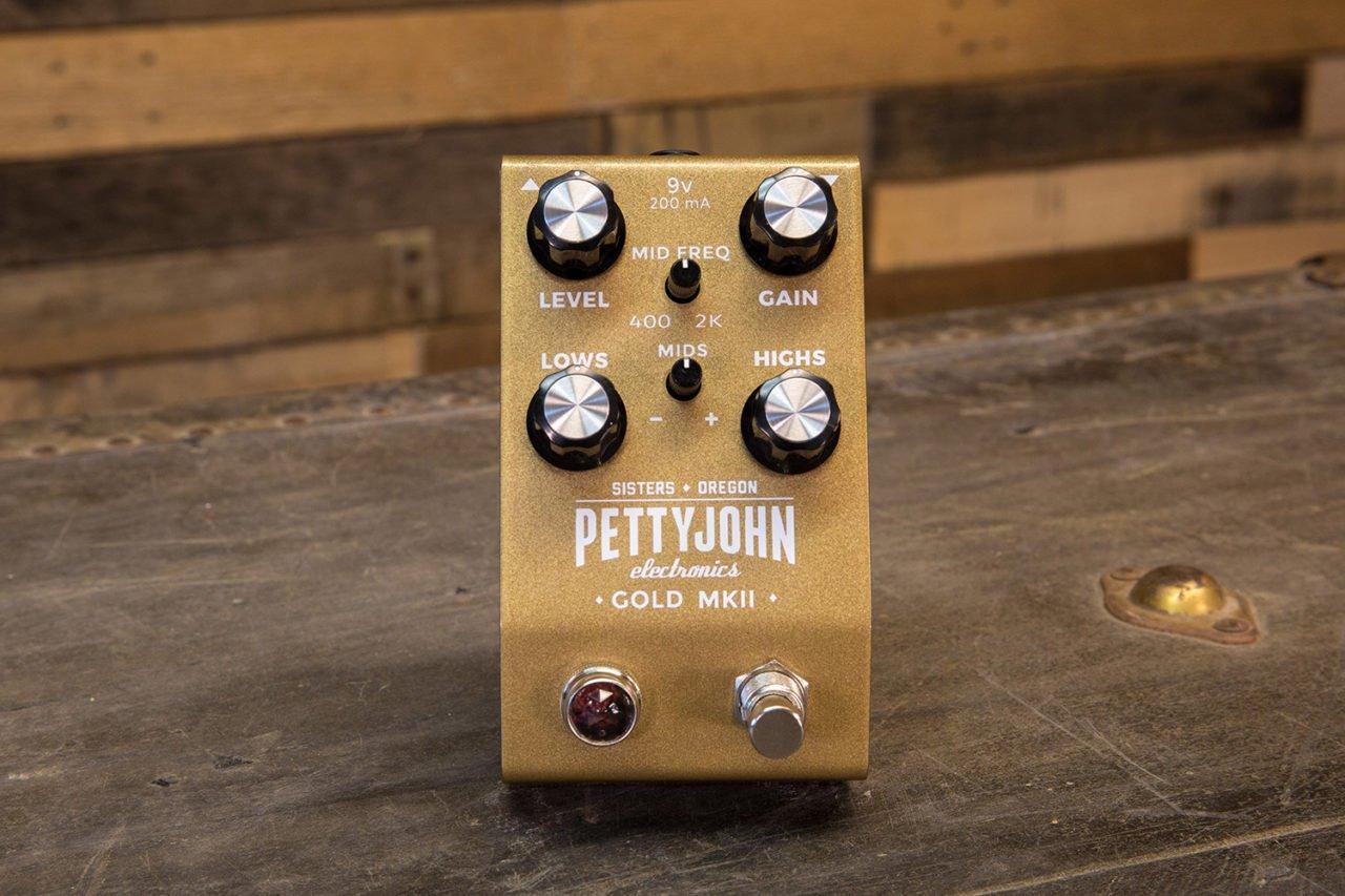 Pettyjohn Electronics Gold MKII Pedal