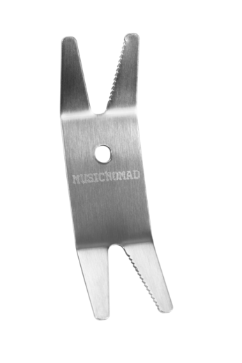 Music Nomad Premium Spanner Wrench with Microfiber Suede Backing