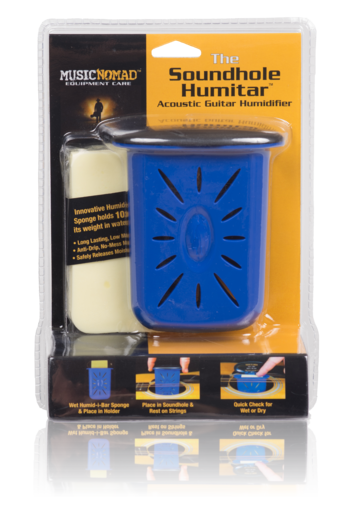 Music Nomad The Humitar - Acoustic Guitar Soundhole Humidifier