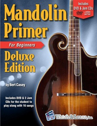 Watch & Learn Mandolin Primer for Beginners Deluxe Edition