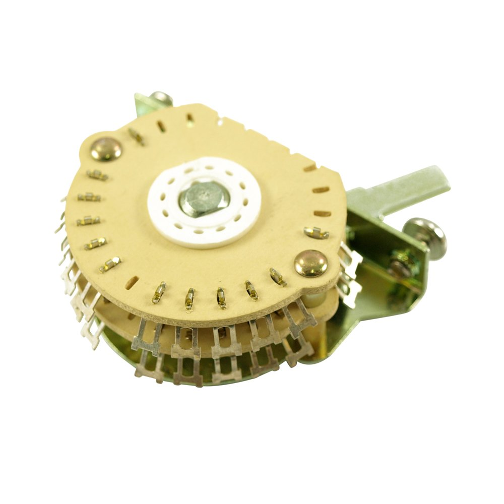 Electroswitch Oak Grigsby 4 Pole Double Wafer Blade Super Switch 5 Position